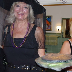 Halloween Party at Linda and Al's Home